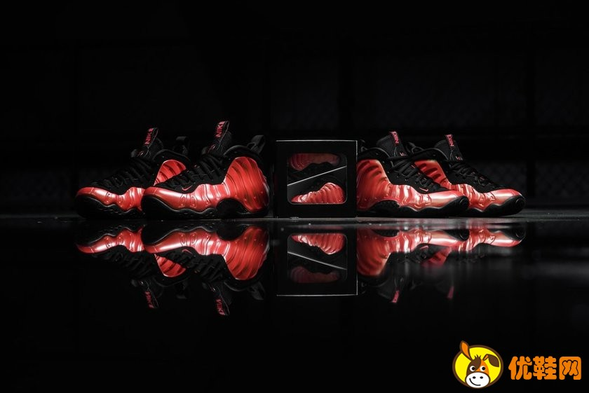 Nike Air Foamposite One 辣椒喷实物迷人!
